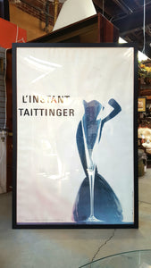 Tattinger Framed Print