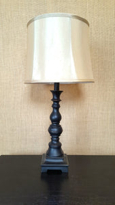 Tall Brown Table Lamp