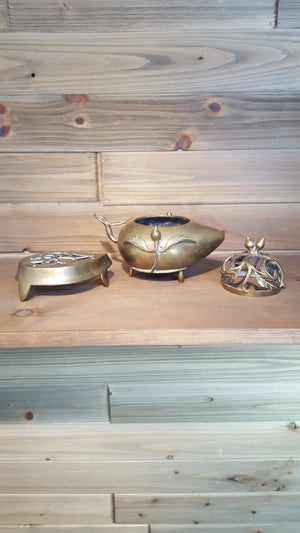 Brass Potpourri Pot