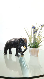 Vintage Cast Iron Elephant