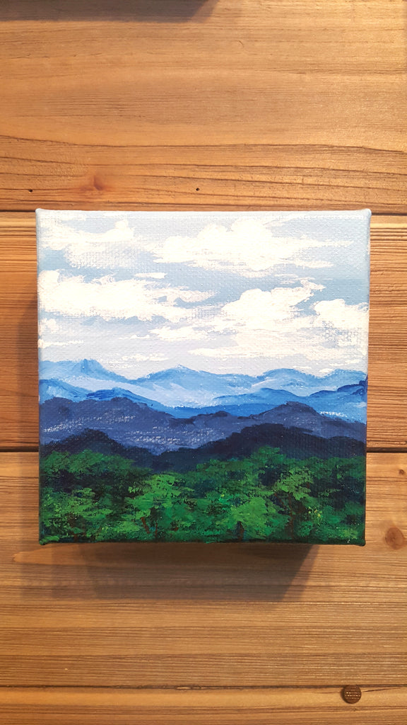 On the Road to Blowing Rock, Original Painting