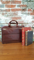 Mori Leather Briefcase with Strap