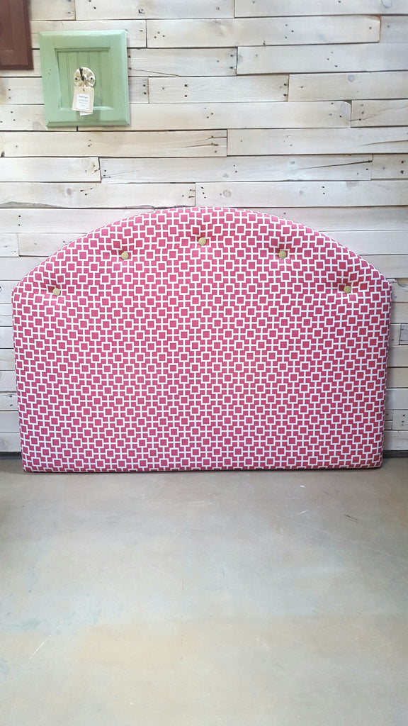 Pink Upholstered Head Board