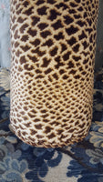 Custom-Made Animal Print Pillow (1 available)