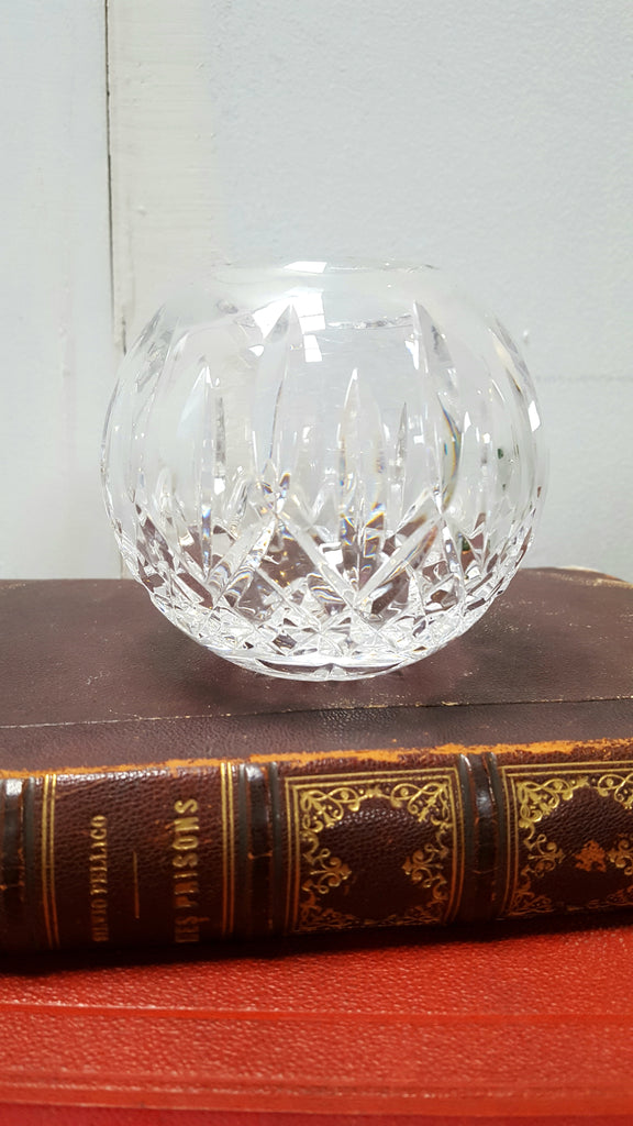 "Waterford ""Lismore"" Crystal Rose Bowl"