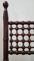 High Victorian Easel with Complex Fretwork