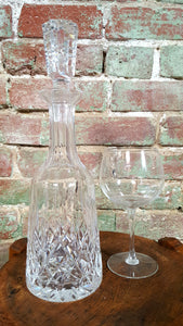 "Waterford Crystal Decanter, ""Lismore"""