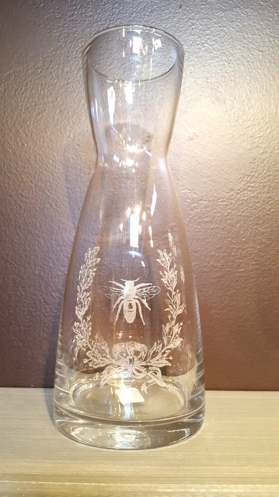 Bee and Laurel Decanter
