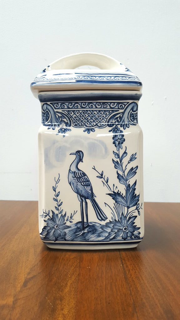 Portugal Hand-Painted Canister