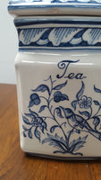 Portugal Hand-Painted Tea Canister