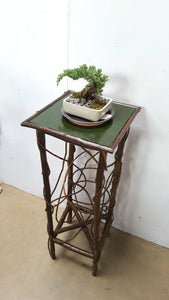 Folk-Style Bent Willow Table