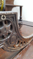 Cast Iron Wine Caddy