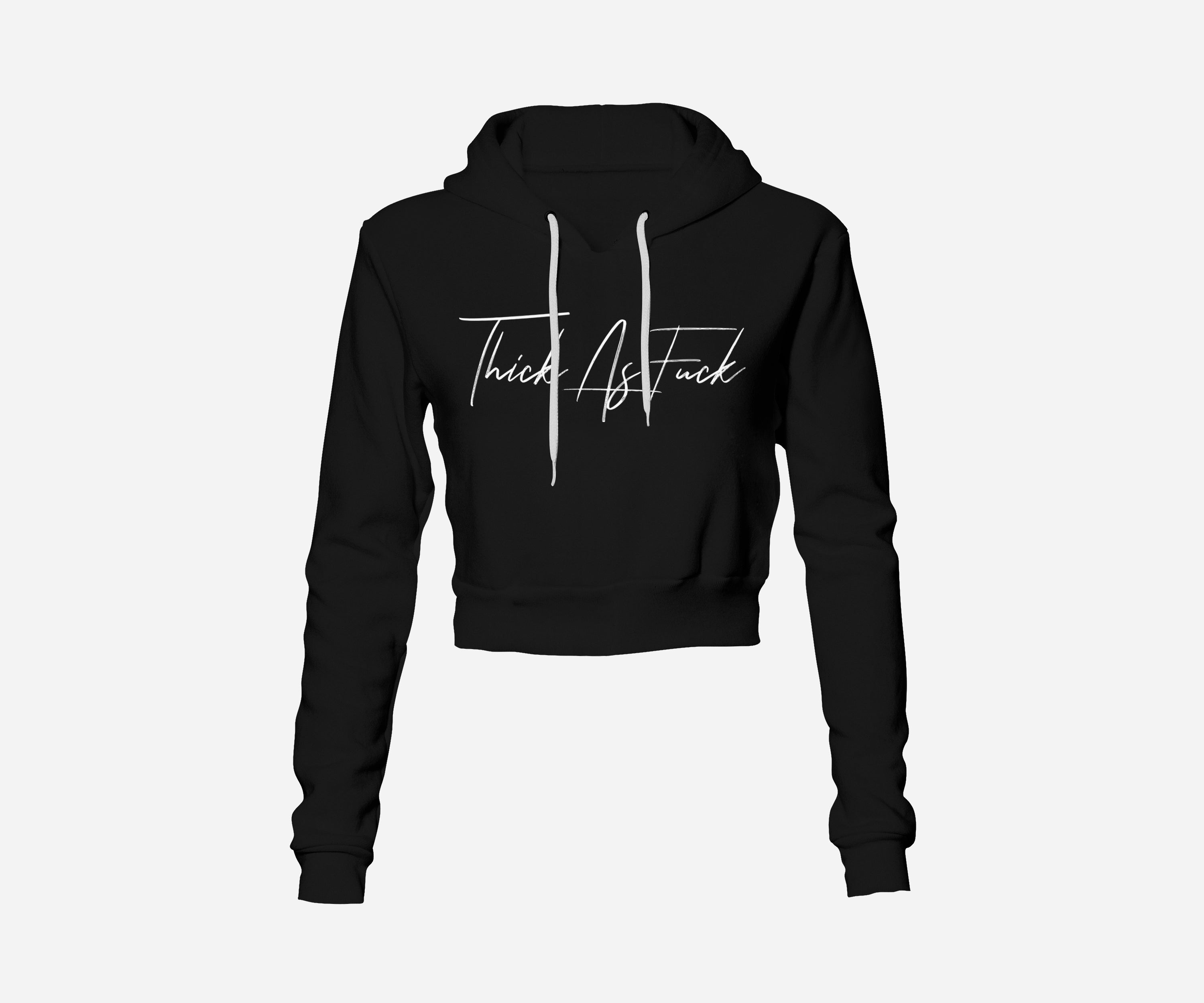 Thick AF Cropped unisex Hoodie