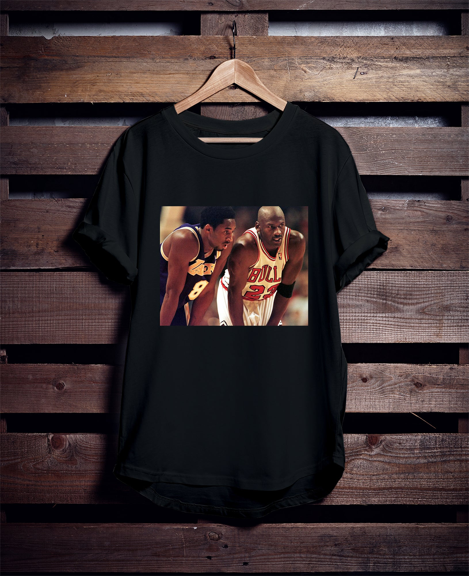 Kobe MJ Tee-Ladies