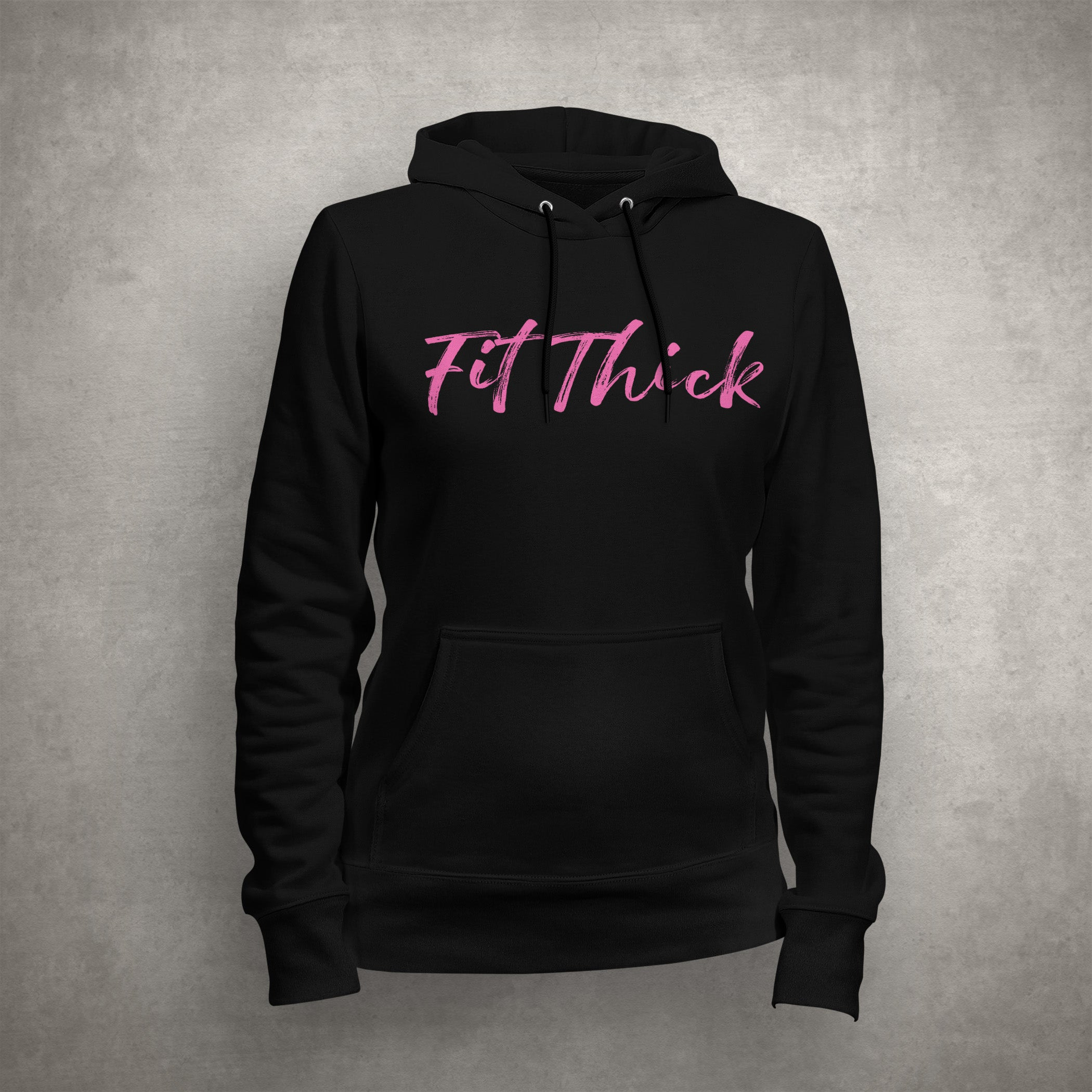 Fit Thick Unisex Hoodie