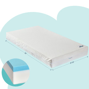Dual-Sided Foam Crib Mattress