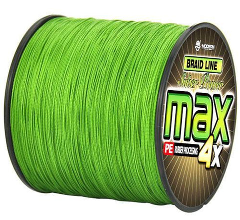 Fishing World Store Army Green / 0.4 / Mainline MODERN 300M multifilament PE braided fishing line