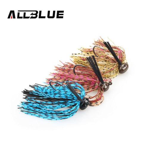 FishingWorld Store Artificial Bait ALLBLUE  Spinnerbait  Bait Lure Fishing Hook Peche