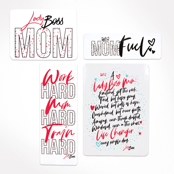Mama's Box Sticker Set (4pc)