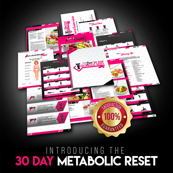 30-Day Metabolic Reset - Instant Digital Download