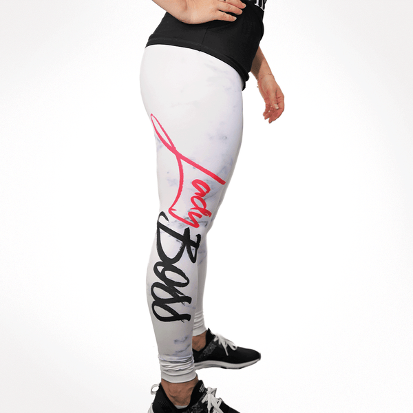 Perfect Fit High Rise Leggings - Marble Edition