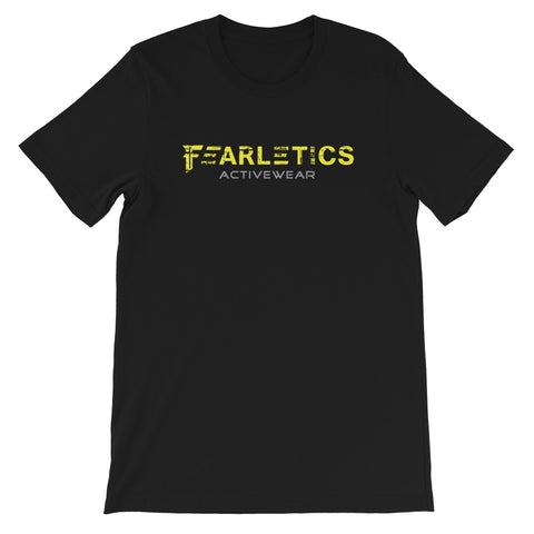 FEARLETICS YELLOW LOGO FRONT