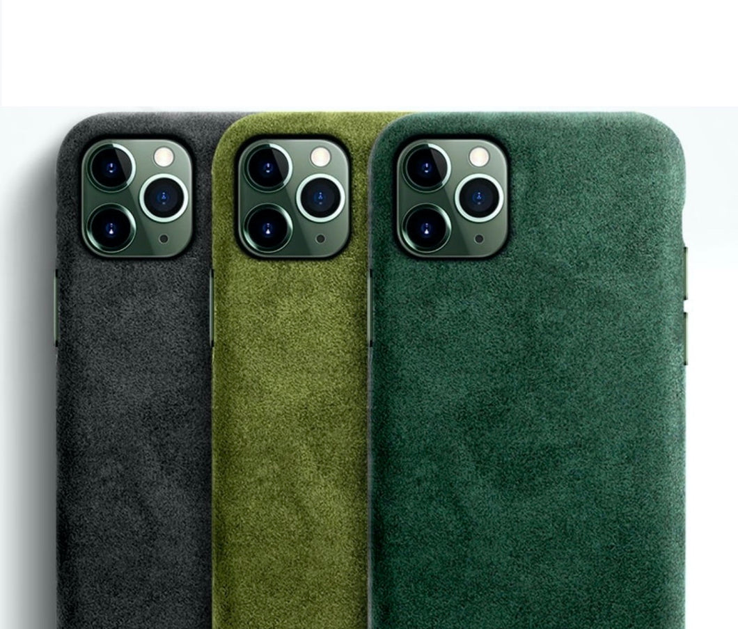 Alcantara Luxury Full Protective Case for iPhone 11 / 11 Pro / 11 Pro Max
