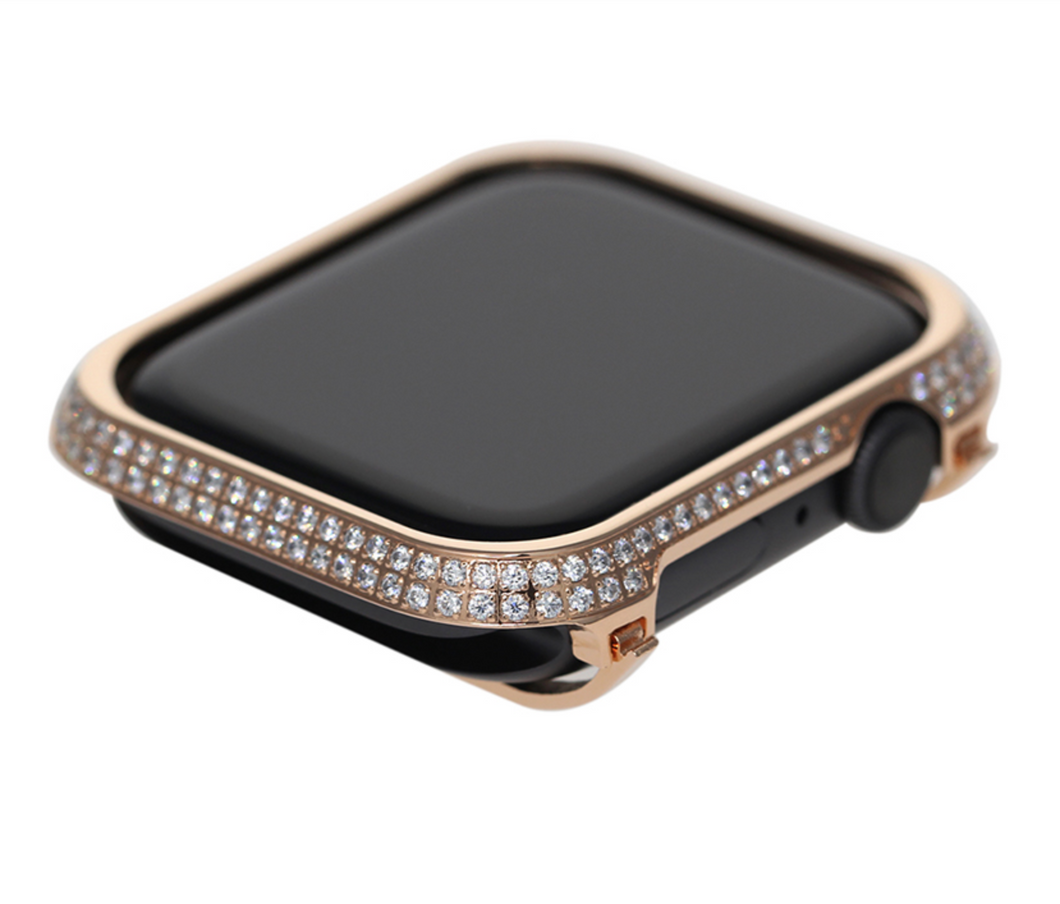 Apple Watch 18kt Rose Gold Crystal Watch Face - Series 4 | 5 | 6