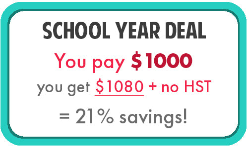 School Year Deal