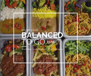 Balanced 2 Go Easy Meal  Range