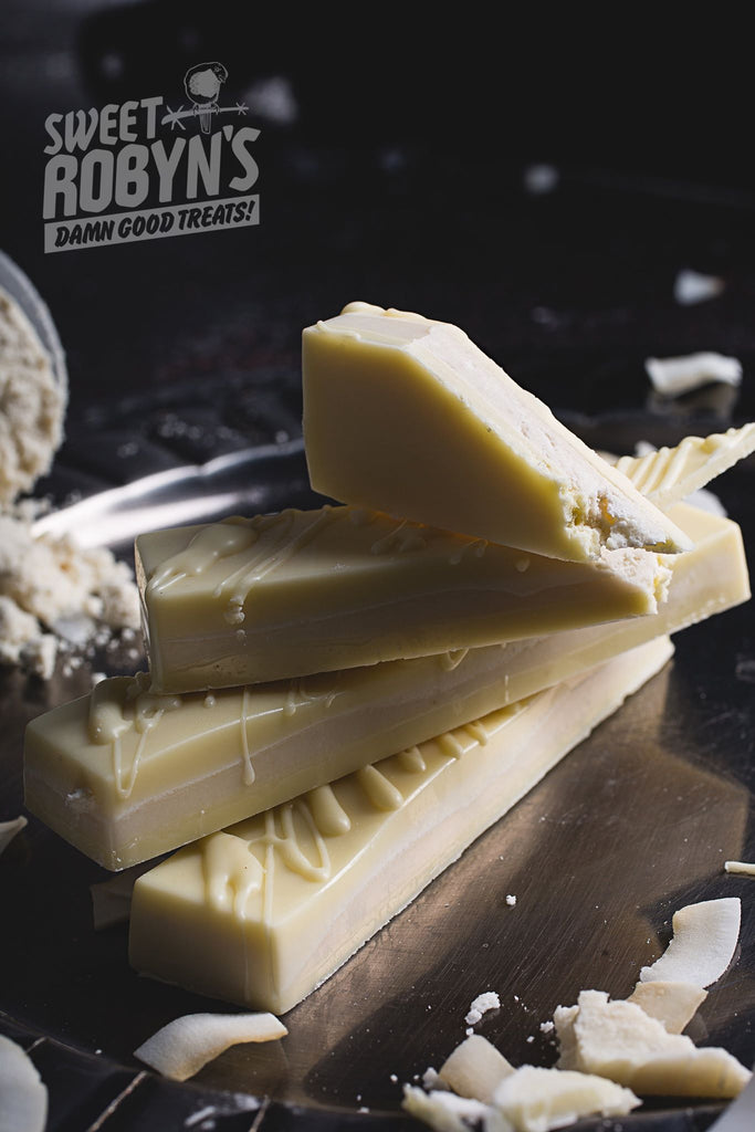 Coconut and Vanilla White Chocolate Protein Bar