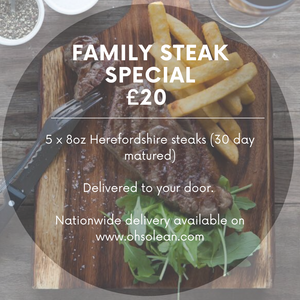 Family Steak Special