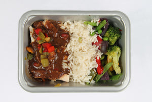 Balanced 2 Go, Chicken Black Bean Rice, Veg