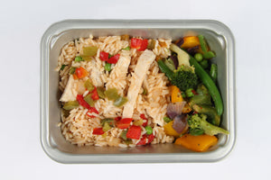 Balanced 2 go Chicken Chili Rice and Veg