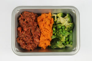 Balanced 2 Go,Chili Mince , Sweet potato and Veg