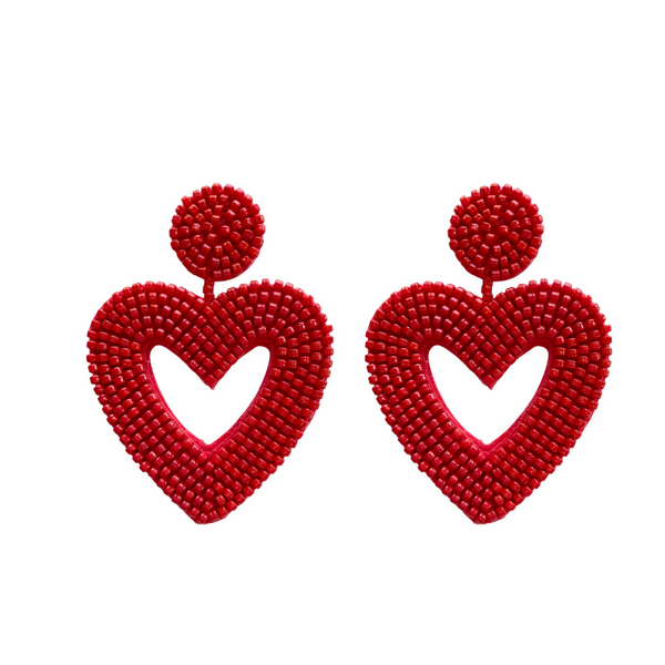 I Heart You Statement Earring