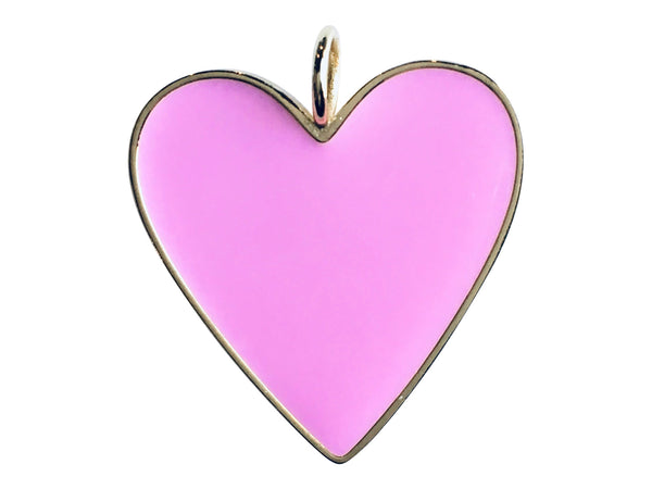 Charm Attachment- Barbie Pink Heart Charm