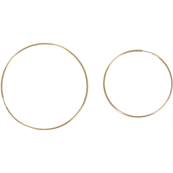 Basic Gold Hoop Earring