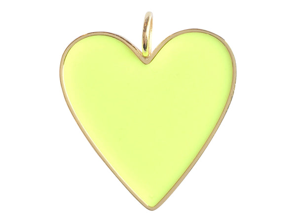 Charm Attachment- Lemon Heart Charm