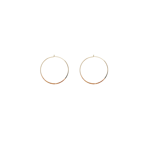 The Perfect Hoop Earring