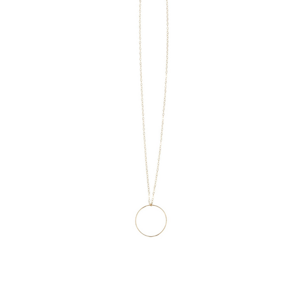 Long Hoop Necklace