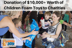 Premium Joy Company Donated $10,000 Worth of Kids Toys