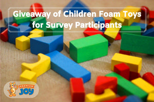 Giveaway of $300+ Worth of Foam Toys for Survey Participants