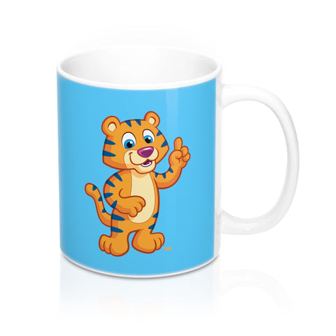 Kids Ceramic Mug with Colorful Cartoon Print
