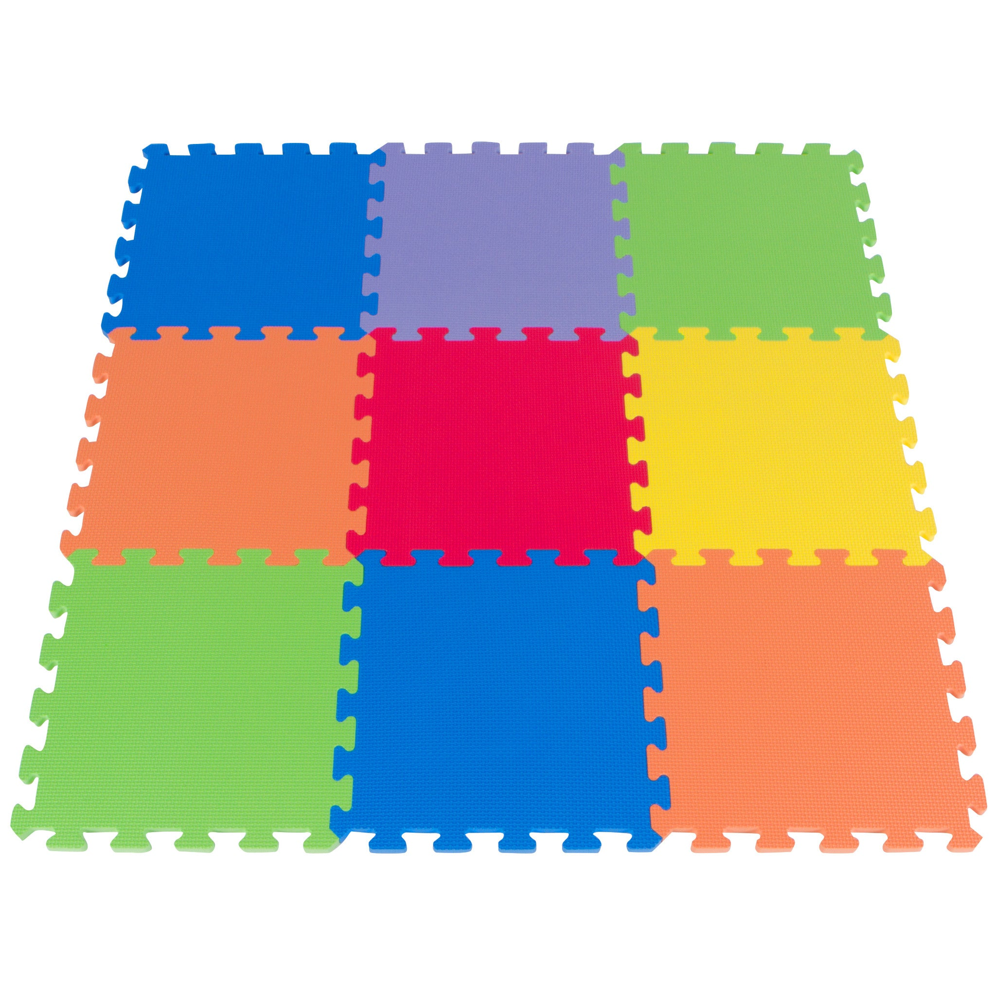 Foam Puzzle Play Mat for Kids - 9 Pieces