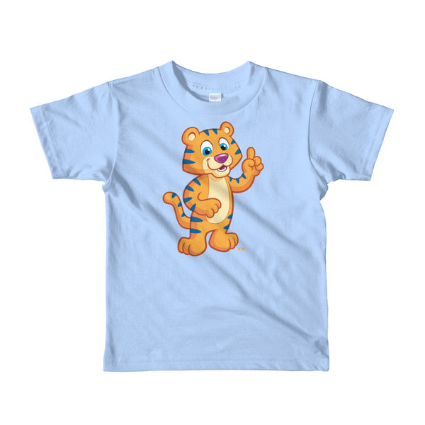 Kids Cotton T-shirt with Colorful Cartoon Print