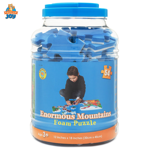 Enormous Mountains Foam Floor Puzzle - 54 Pieces
