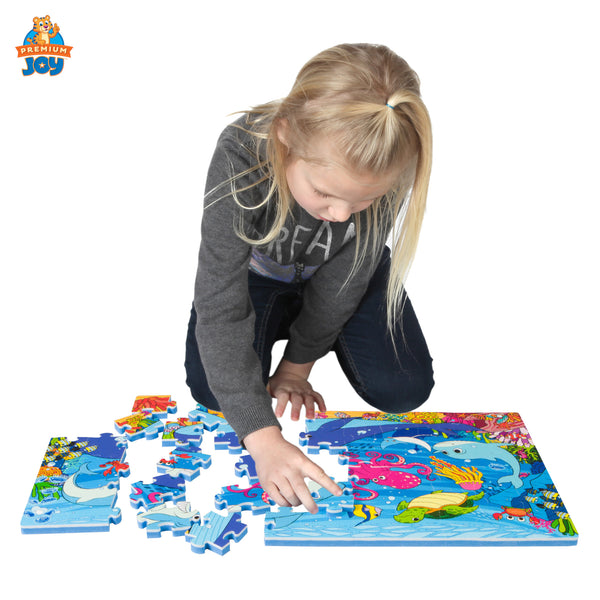 Under the Sea Foam Floor Puzzle - 54 Pieces