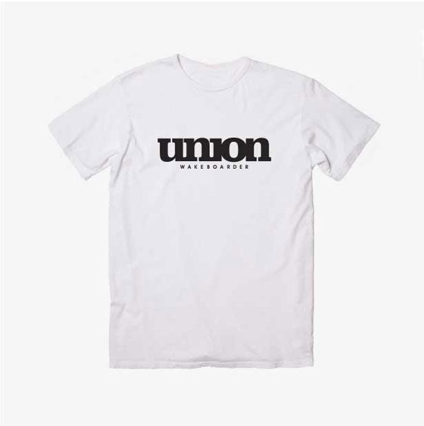 Union Tee in White