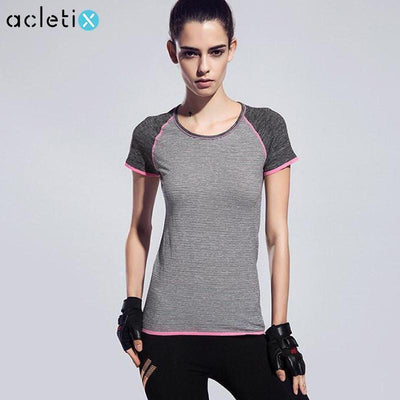 Gym Quick Drying Compression Women's Sport T-Shirts